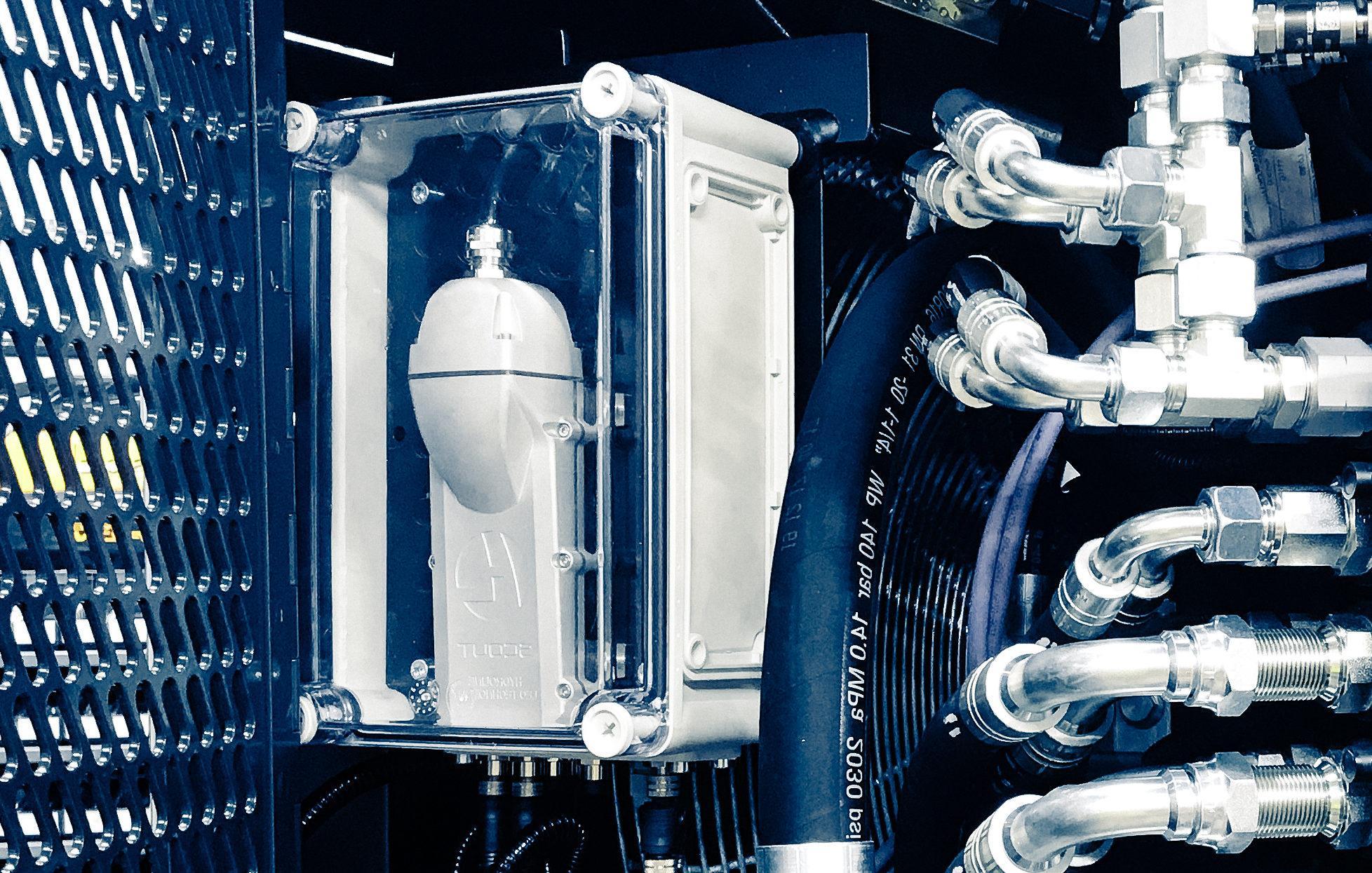 LEO monitor predictive maintenance hydraulic cylinder hydraulics