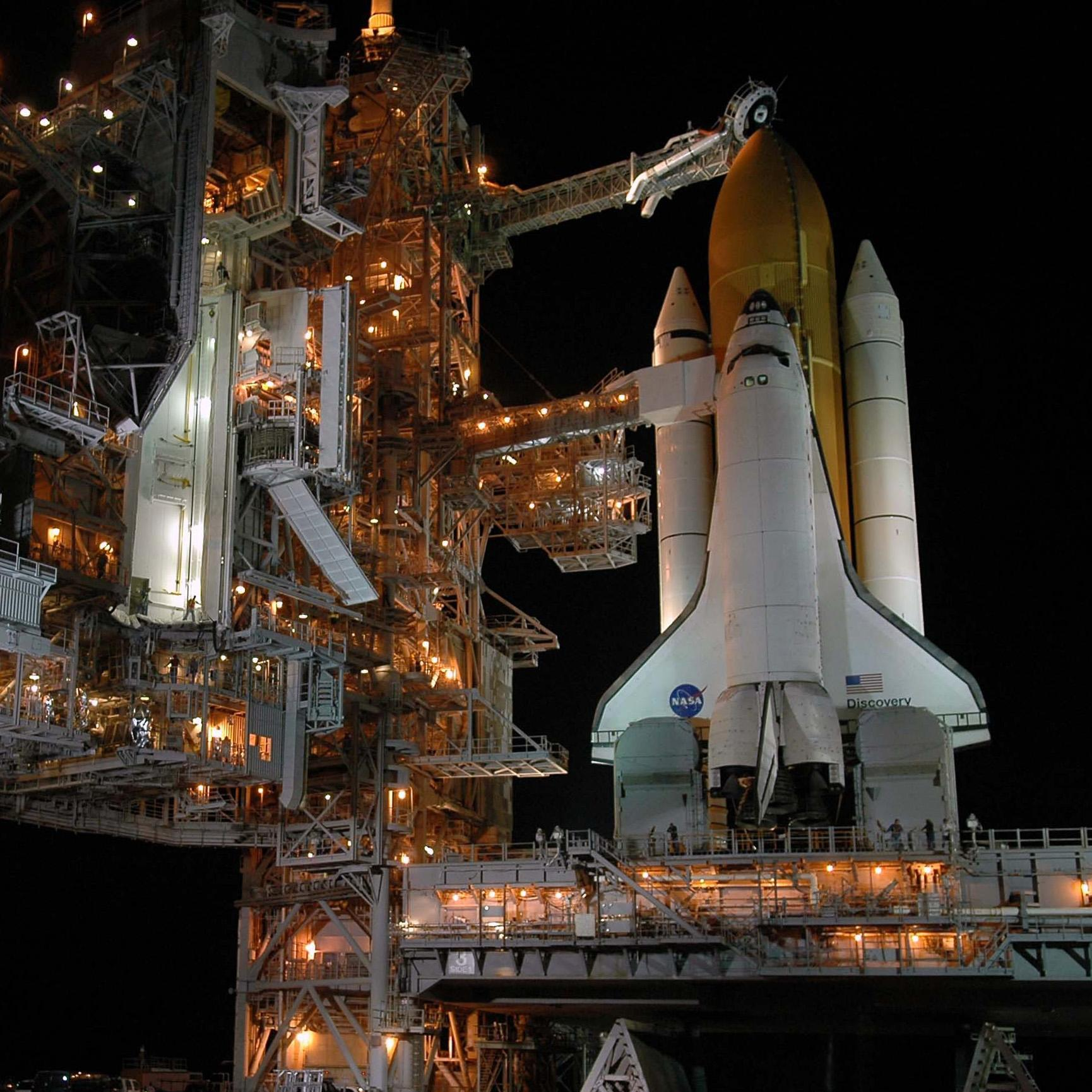 How do hydraulics work space shuttle night